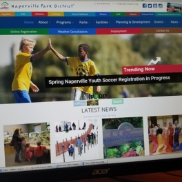 Naperville Park District Releases New, Mobile-Friendly Website