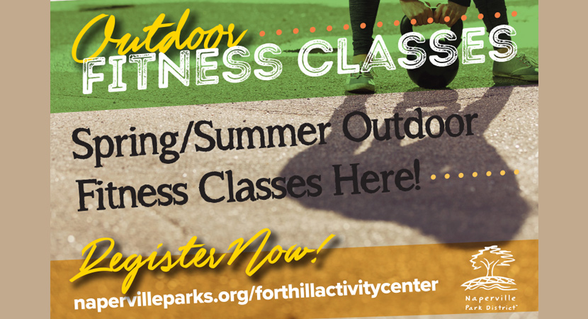 Register for Spring & Summer Outdoor Fitness Classes