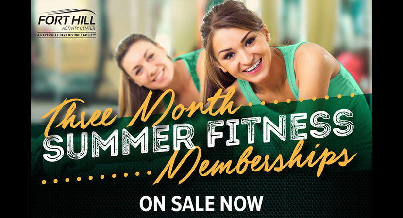 Three Month Summer Fitness Memberships at Fort Hill Fitness
