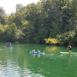 Riverwalk Café, Paddleboat Quarry and Millennium Carillon Open through September