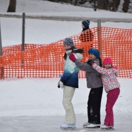Ice Skating Rinks Open at 3 Locations