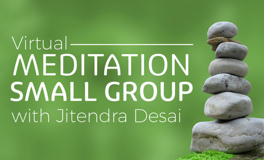 Virtual Small Group Meditation Classes - Register Now
