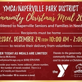 Community Christmas Meal for Naperville Seniors and Families in Need