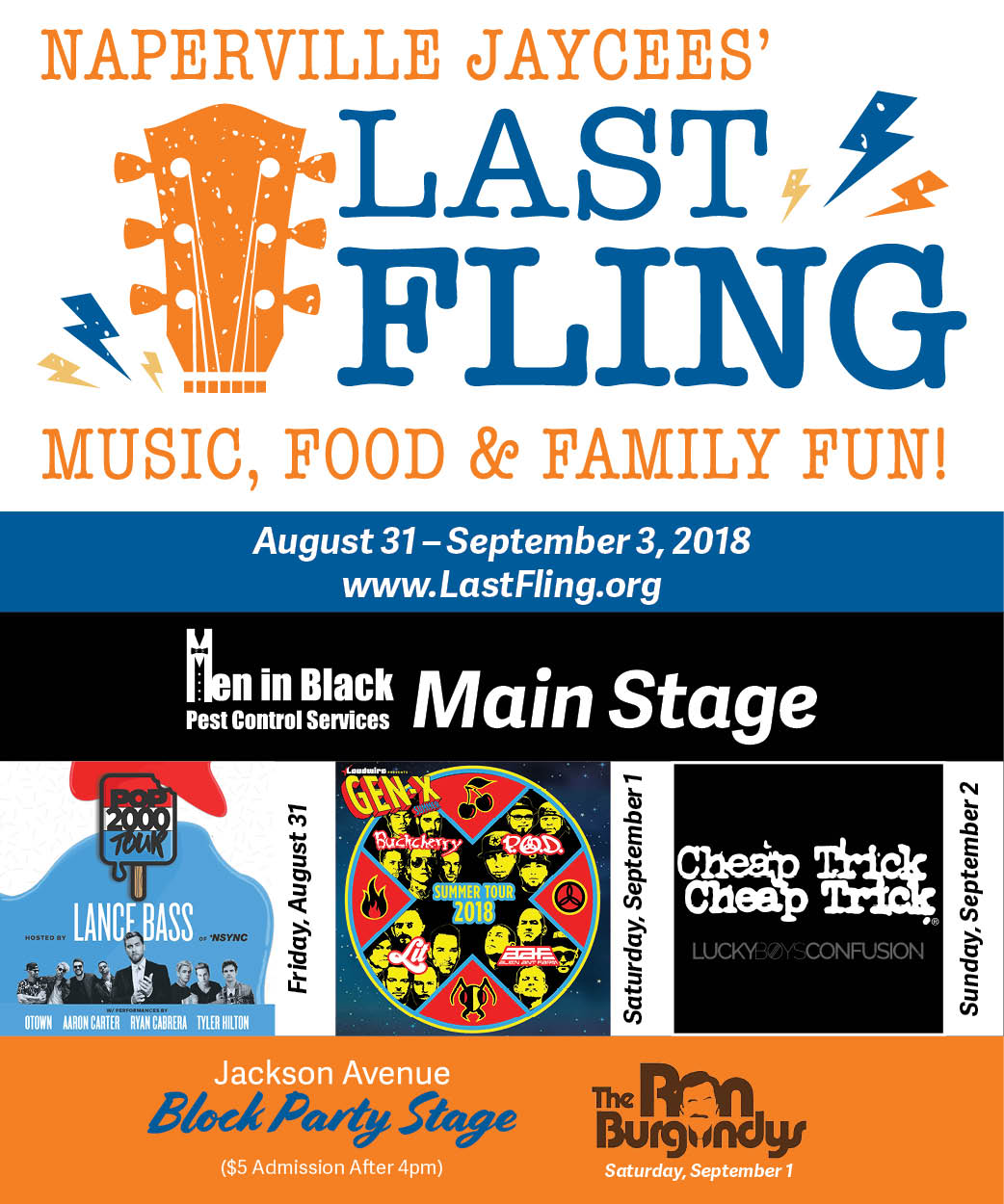 Last Fling - Main Stage